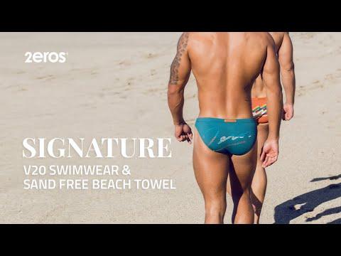 2EROS Signature Series Swimwear + Sand-Free Beach Towel