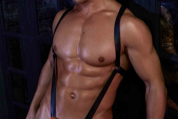 New Cellblock 13 Flasher Neoprene Body Harness
