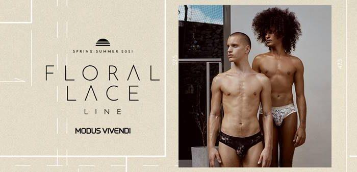 Floral Lace Underwear Line by Modus Vivendi