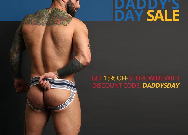 Daddy's Day Store Wide Sale at Jockstrap Central