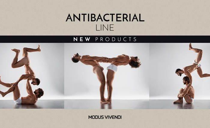 Antibactereal Underwear Line by Modus Vivendi