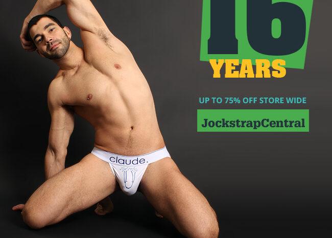 Jockstrap Central 16th Anniversary Sale